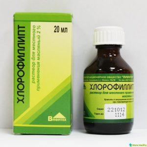 спринцевание Хлорофиллиптом