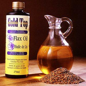 масло и семена льна от миомы