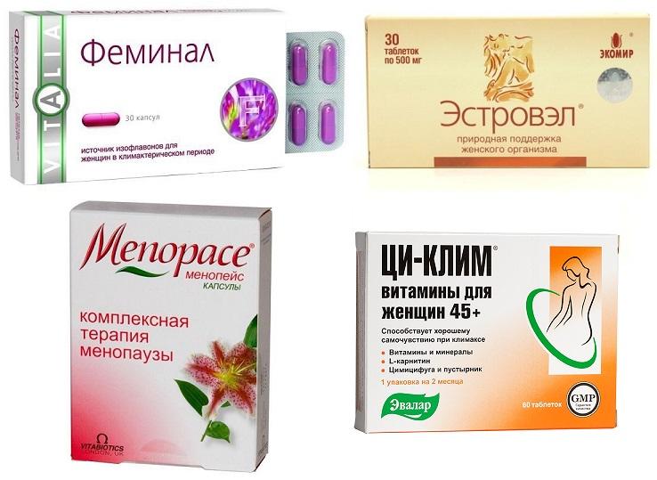Препараты для женщины в период менопаузы